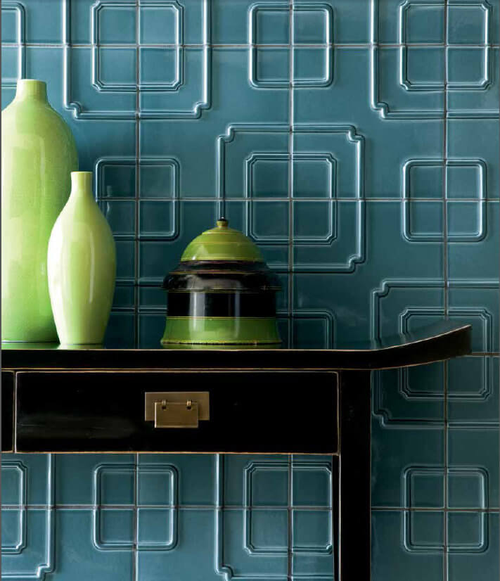 WZ Studio Modern | Byrd Tile Living Areas
