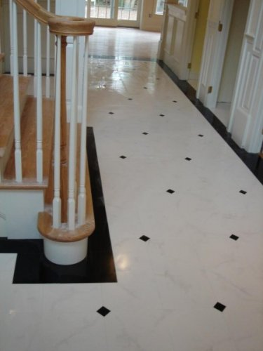 Statuary/Absolute   Byrd Tile Living Areas