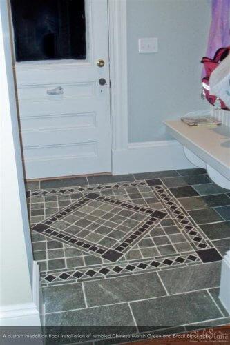 Slate   Byrd Tile Living Areas