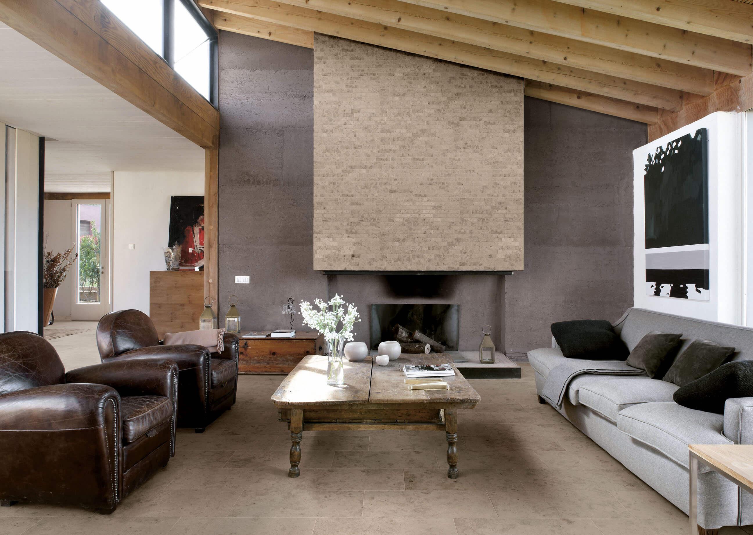 Everstone Beige | Byrd Tile Living Areas