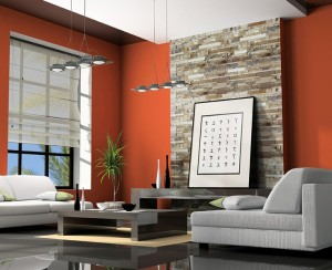 Ledgerstone Split Face | Byrd Tile Living Areas