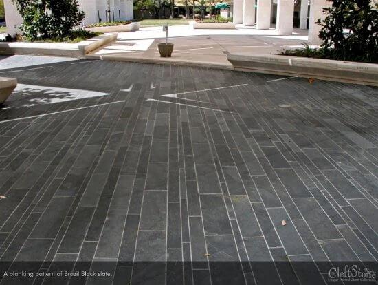 Slate Brazilian Black | Byrd Tile Outdoor Spaces