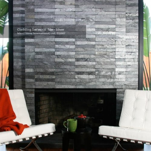 VT6 Silver | Byrd Tile Living Areas