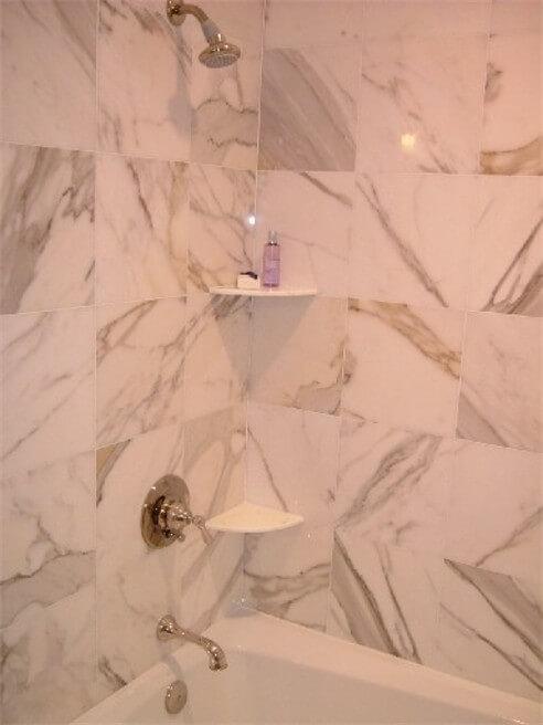 Calacatta Marble | Byrd Tile Bathrooms