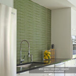 Island Stone Glass Byrd Tile Kitchens