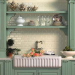 Sonoma Beveled Byrd Tile Kitchens