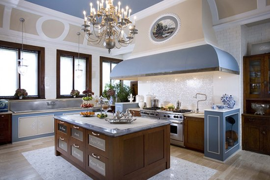 Artistic Byrd Tile Kitchens