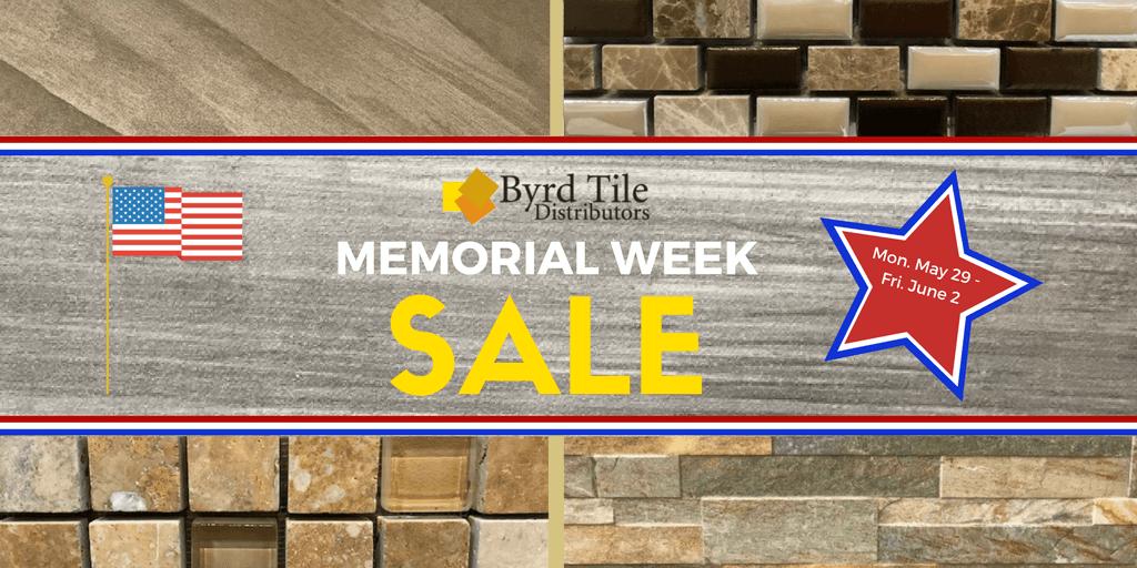 Memorial Week Closeout Tile In Raleigh