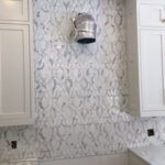 Local Install Damask Waterjet | Byrd Tile